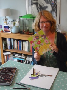 Peta Rainford with her new book, Hairy Fairy